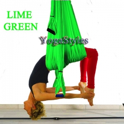YogaStyles Yoga Swing Lime Groen