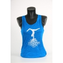 YogaStyles singlet Boom turkoois one size