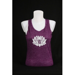 YogaStyles singlet lotus/ohm paars one size