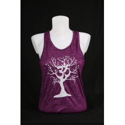 YogaStyles singlet ohm/boom paars one size