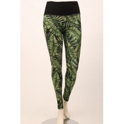 Om Namaste Tropical Legging - Groen - Medium/Large