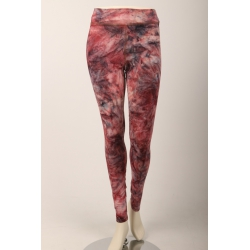 Om Namaste Batik Legging - Roze Small/Medium