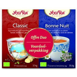 Yogi Tea Duo Pack - Classic/Bedtime